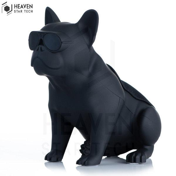 Bulldog bluetooth speaker full body dog wireless cartoon