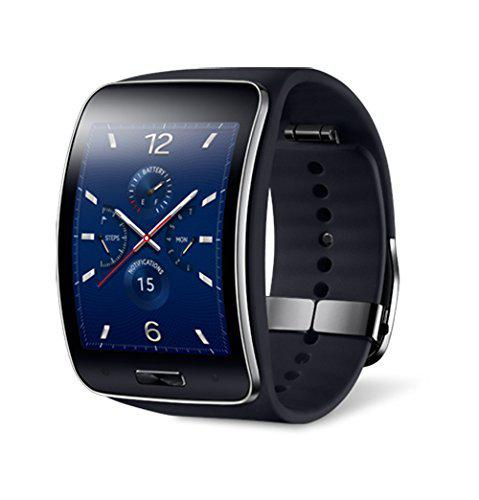 Samsung galaxy gear s sm-r750a smart watch with curved super