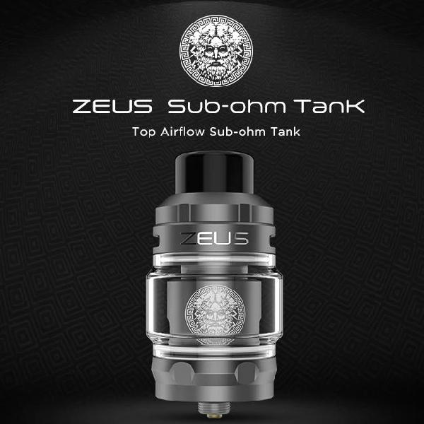 Geekvape zeus sub-ohm tank - black