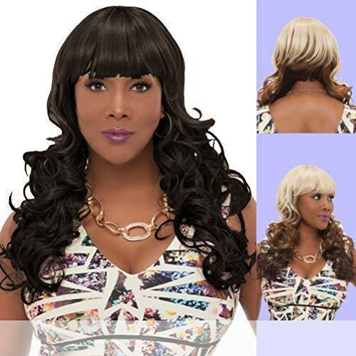 Vivica a. fox (zeva) - heat resistant fiber full wig...