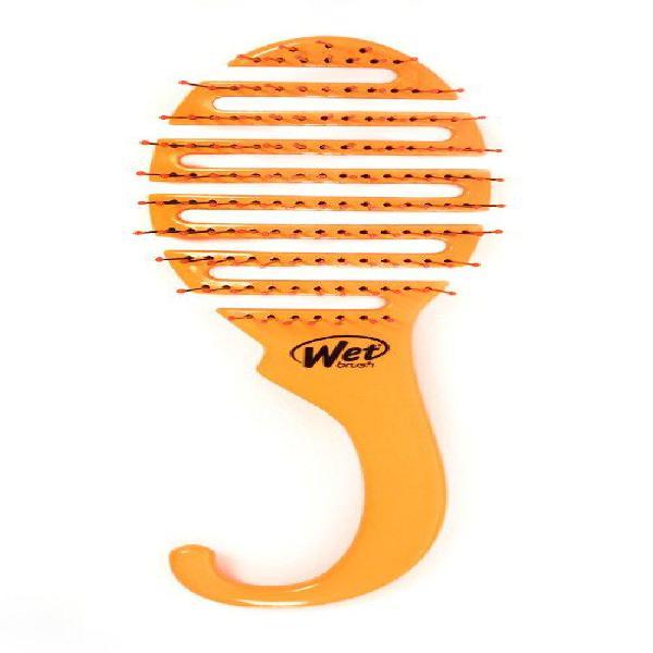 Wet brush shower flex hair brush, orange, 3.3 ounce