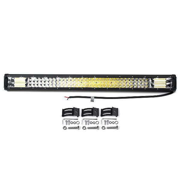 32'' 160w off road led work light bars combo spot driving