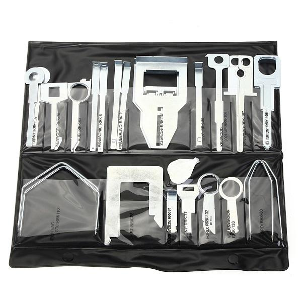 Car stereo release removal keys set tool vehicle cd head