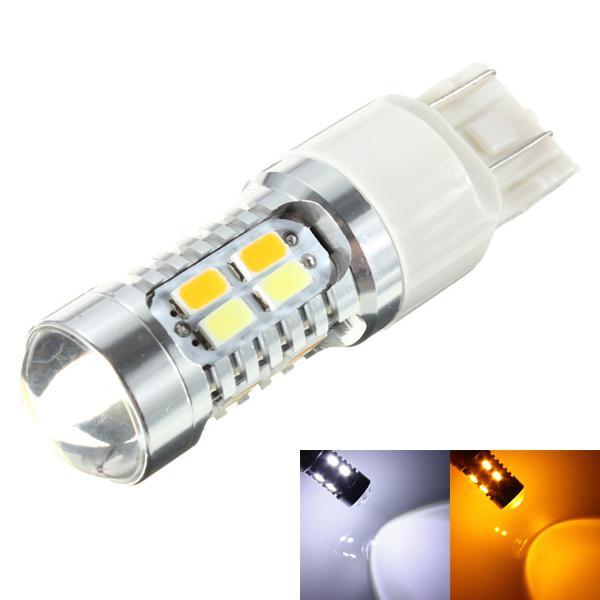 High power 12v led amber white driving turn signal light