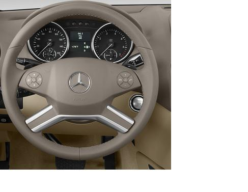 Mercedes benz m class/ml suv matic steering wheel