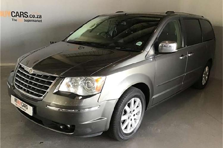 Chrysler grand voyager 3.8 limited 2010