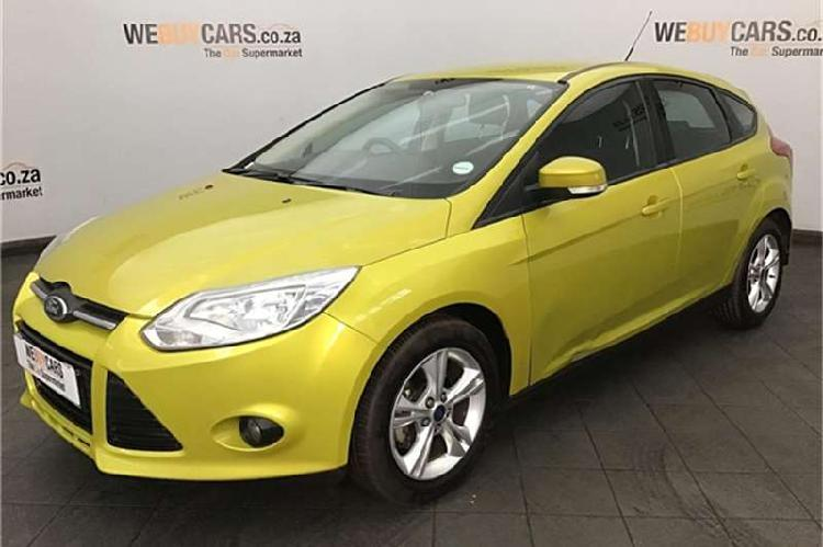 Ford focus sedan 1.6 trend 2012