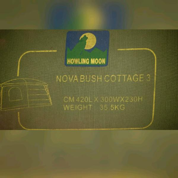 Howling moon, nova bush cottage 3 tent for sale
