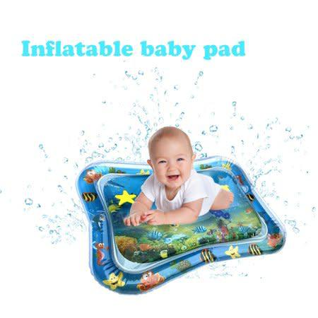 Inflatable baby water mat novelty play for kids children