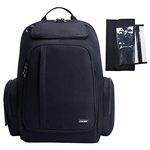 Kalidi baby diaper backpack, large capacity diaper bag with