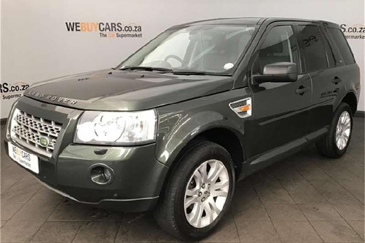 Land rover freelander 2 hse td4 commandshift 2008