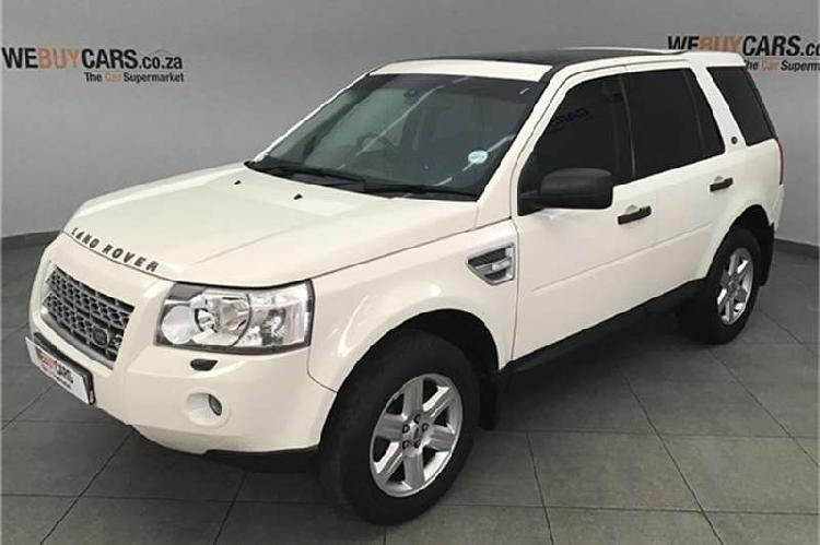 Land rover freelander 2 s td4 commandshift 2009