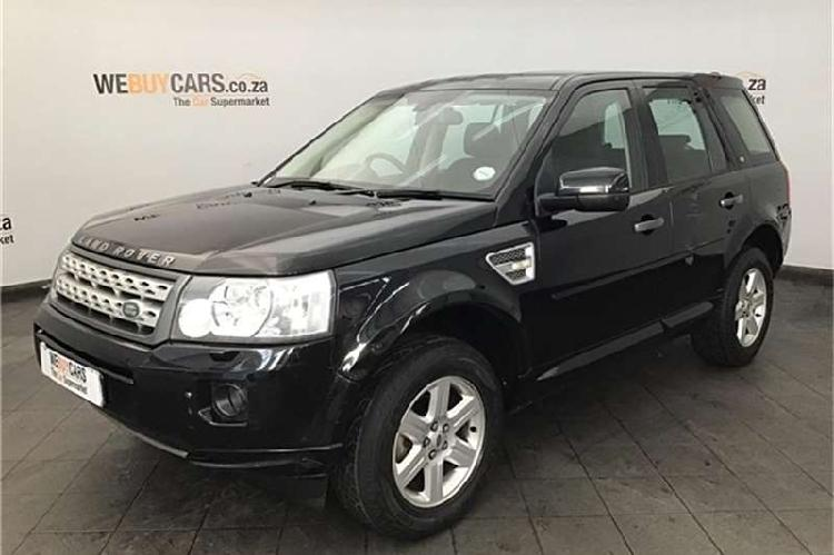 Land rover freelander 2 sd4 s 2011