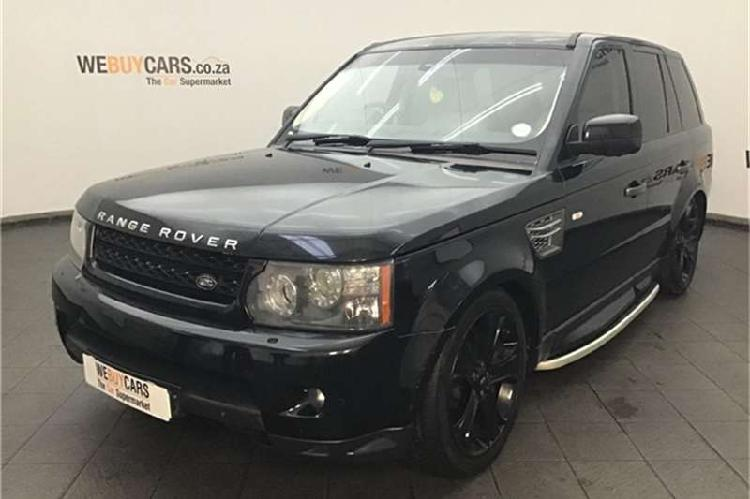 Land rover range rover sport supercharged 2010