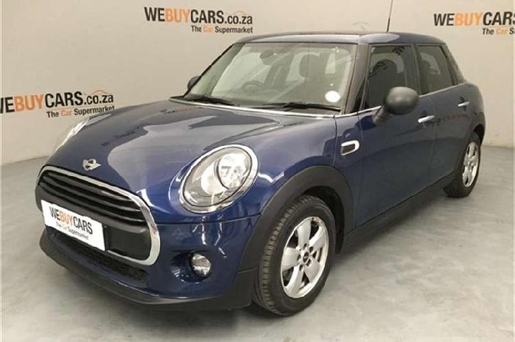 Mini hatch one hatch 5 door 2016