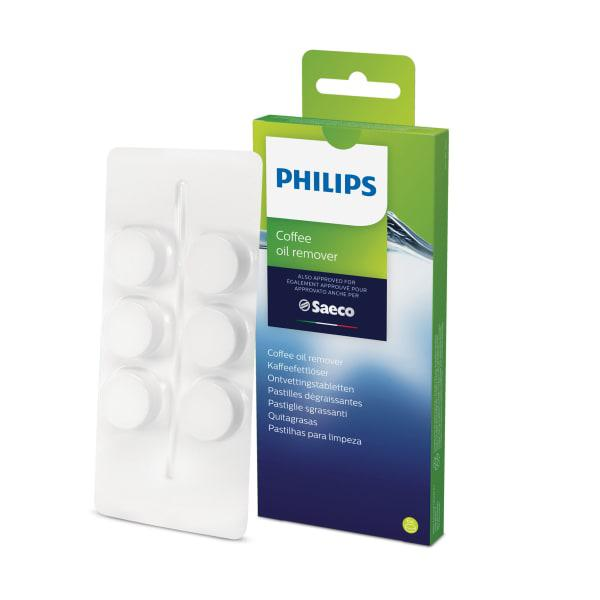 Philips coffee oil remover tablets, pack of 6