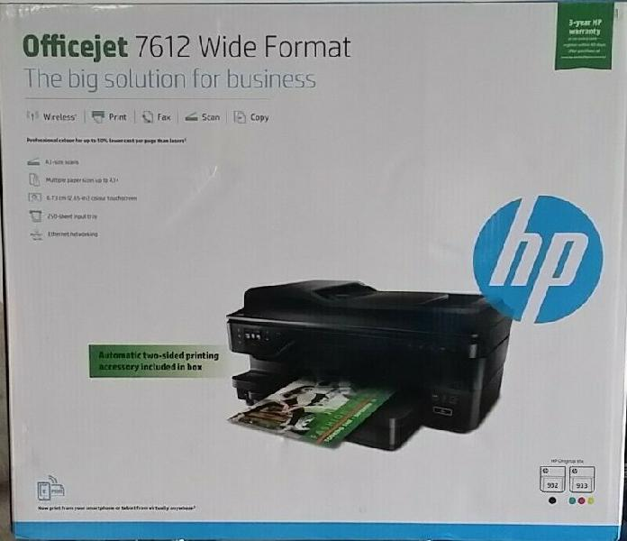 Reduced - brand new hp a3 wide 7612 network printer -