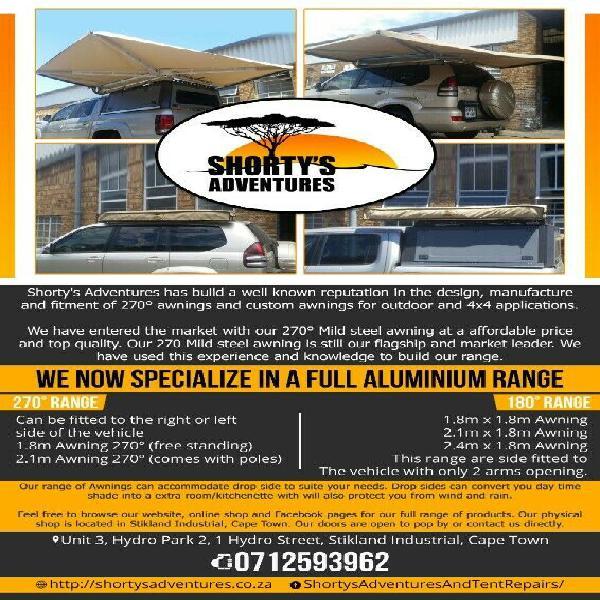 Special promotion: shortys adventures 270 degree mild steel