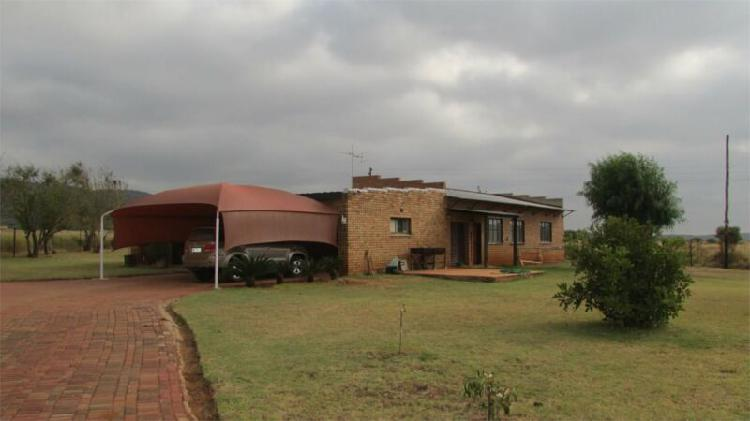 Smallholding in polokwane now available