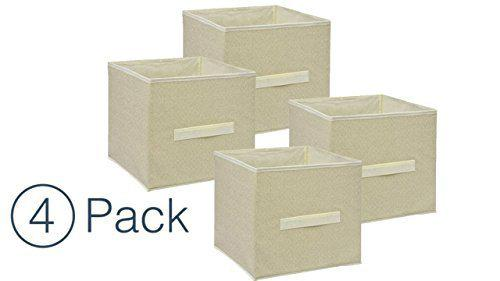 Storage cube organizer - small collapsible storage cube (4)