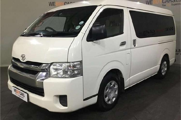 Toyota quantum 2.7 gl 10 seater bus 2016