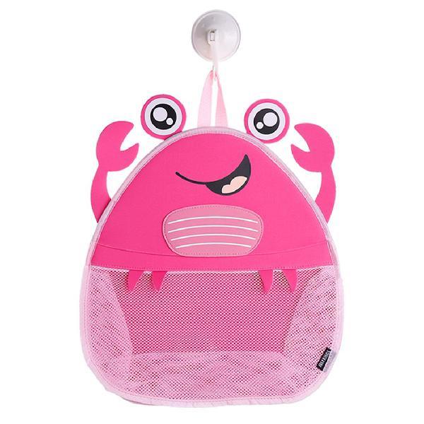 Ava & kings baby bath toy organizer mesh - hanging bathroom