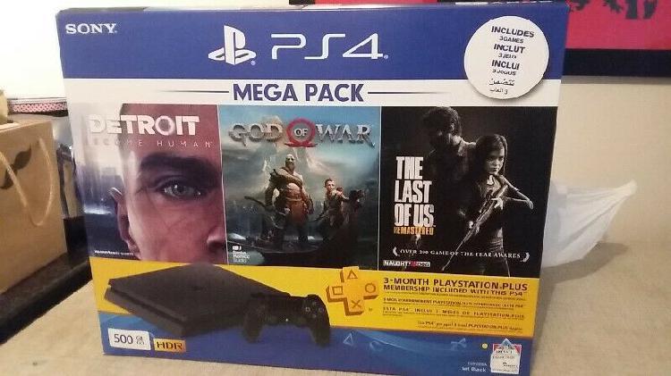 Brand new* ps4 500gb mega pack