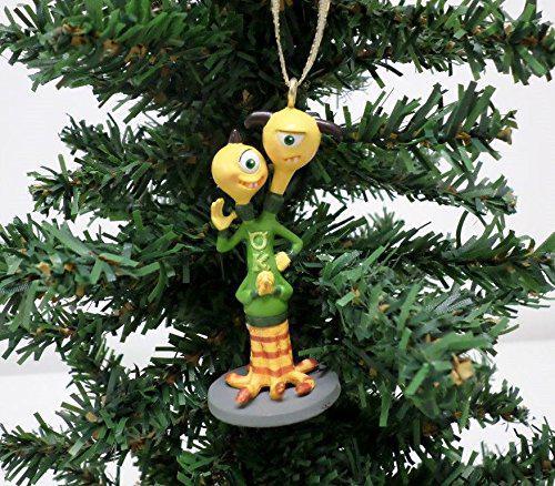 Disney monsters university terri & terri custom ornament pvc
