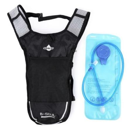 Hydration pack packs 2l with storage compartment and