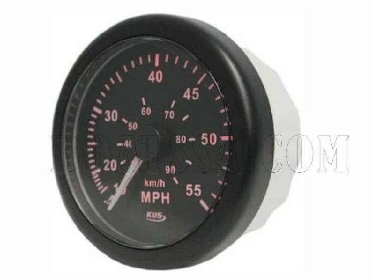 Kus speedometer gauge – black