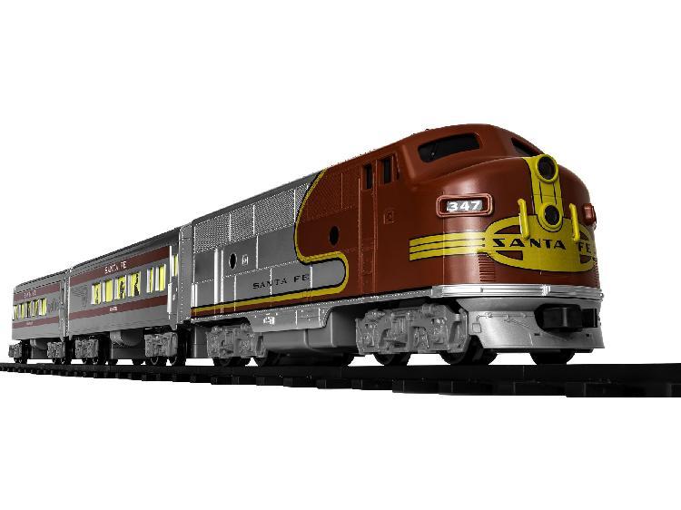 Lionel santa fe diesel ready to play train set (35 piece)