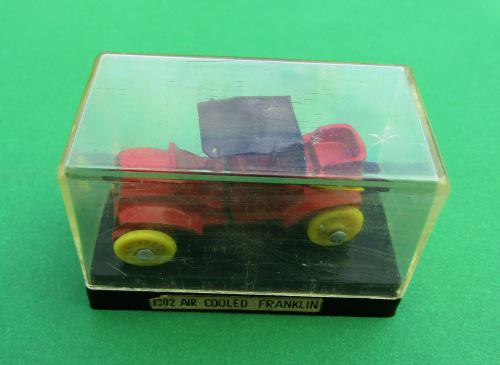 """Mint and boxed die-cast metal 1902 """"air cooled franklin"""" by"""