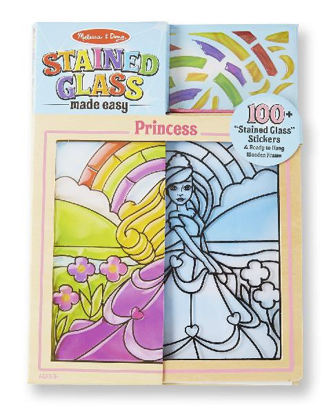 Melissa & doug stained glass made easy activity kit: