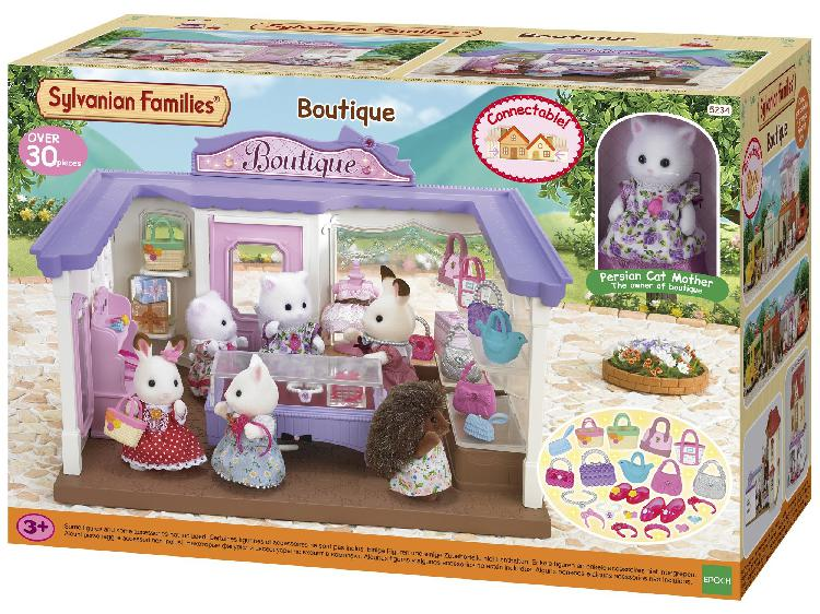 Sylvanian families boutique set