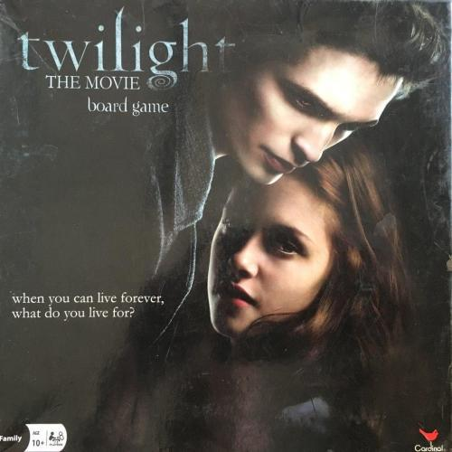 Twilight the movie board game - cardinal games 2009