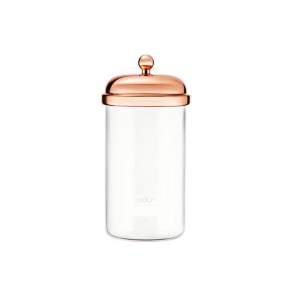Bodum classic copper storage jar, 1 litre