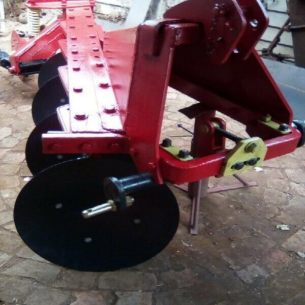 Disc plough, ploeg