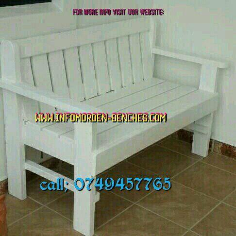 High quality modern benches