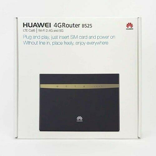 Huawei b525 4g lte cat 6 wireless router