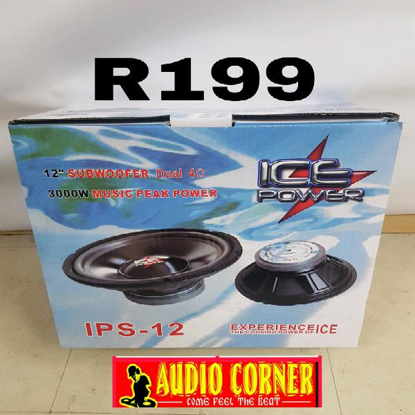 "Ice power sub speaker 12"" 3000w"