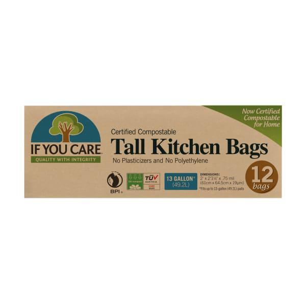 If you care compostable tall kitchen bags, 49 litre