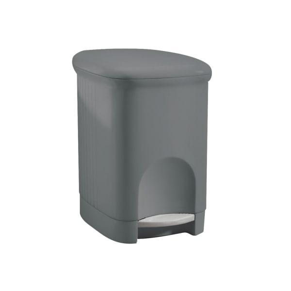 Meliconi plastic pedal bin, 16 litre