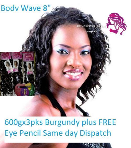 3 packs 600g wavy extensions weaves #33 free kajal