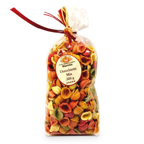 Pasta marella rainbow orecchietti pasta, 500g