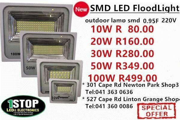 10w 20w 30w 50w 100w smd led flood light 1year guaranty