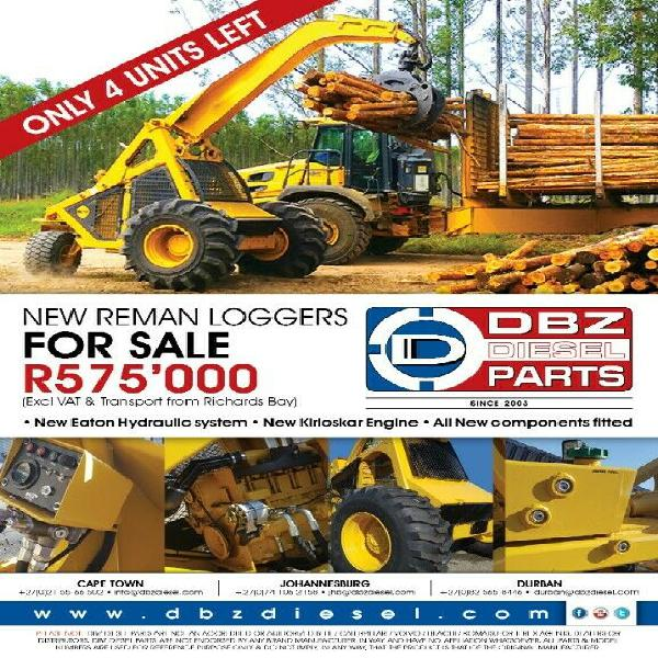 225 loggers for sale - all components brand new.
