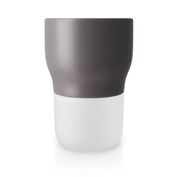 Eva solo grey rounded self-watering flower/herb pot