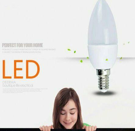 Led candle bulb e14 220v 3w 5w 7w lampada led light bulb