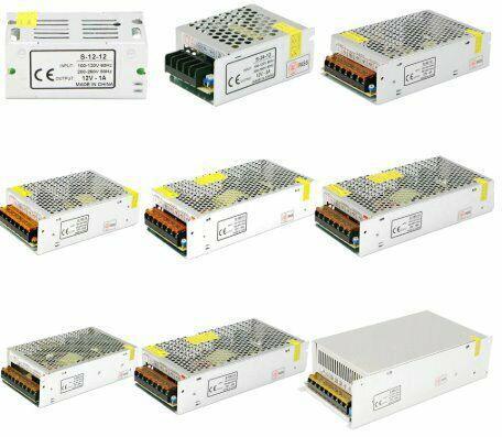 Power supply dc 12v 1a 2a 3a 5a 10a 12a 15a 20a 30a lighting