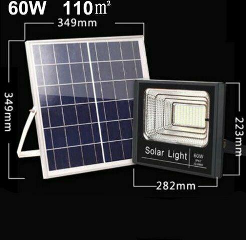 Solar lights super bright waterproof led road light 30w 60w